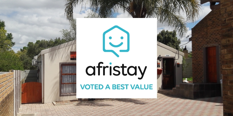 Vest Value award from Afristay